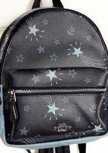 💎COACH Mini Leather Star Print Backpack 💎